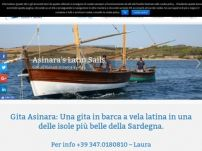 Escursioni all'Asinara in barca a vela latina