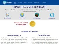 ZTLmilano.it - Consulenza multe ZTL, AreaC, Autovelox Milano
