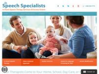 In-home speech therapy for Children of all ages and also for Adults all across Ontario Toronto