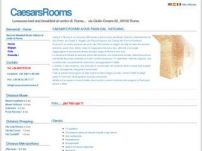 Caesar's Rooms lussuoso bed and breakfast al centro di Roma.