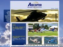 Aercopter - Helicopter & Aircraft service