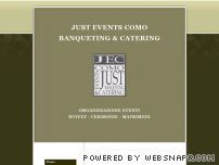JUST EVENTS COMO - BANQUETING & CATERING