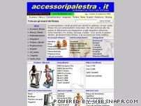 Attrezzi palestra aziende strumenti e utensili servizi - Strumenti palestra in casa ...